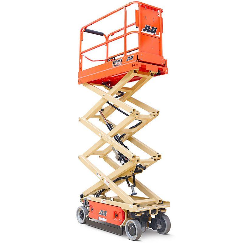 izposoja škarjastih dvižnih ploščadi